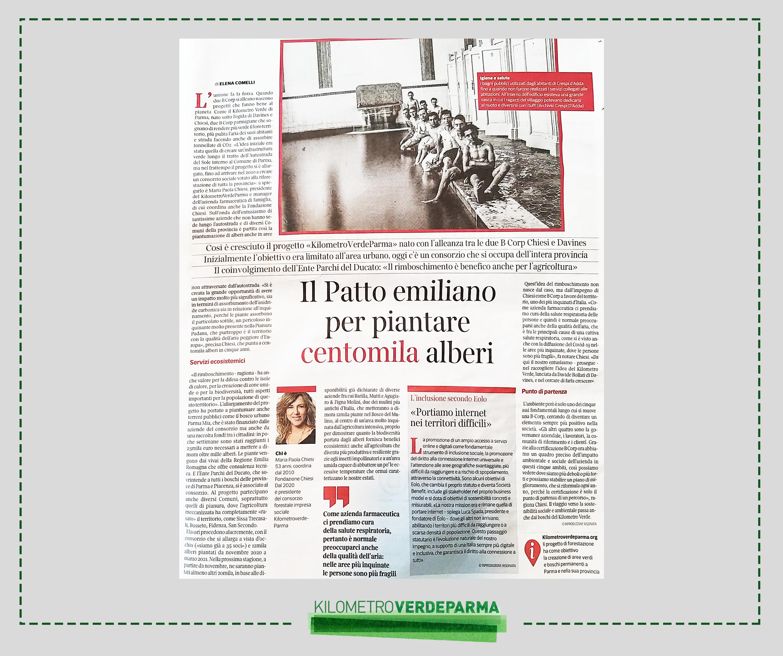 KilometroVerdeParma - Buone Notizie - Corriere della Sera