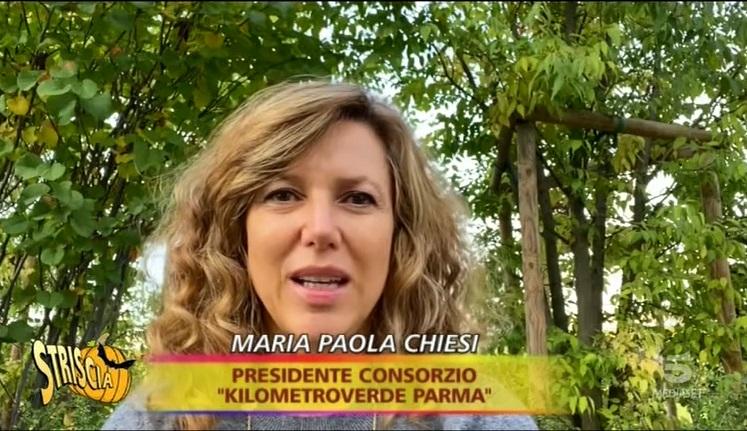 KilometroVerdeParma - Striscia La Notizia - Maria Paola Chiesi